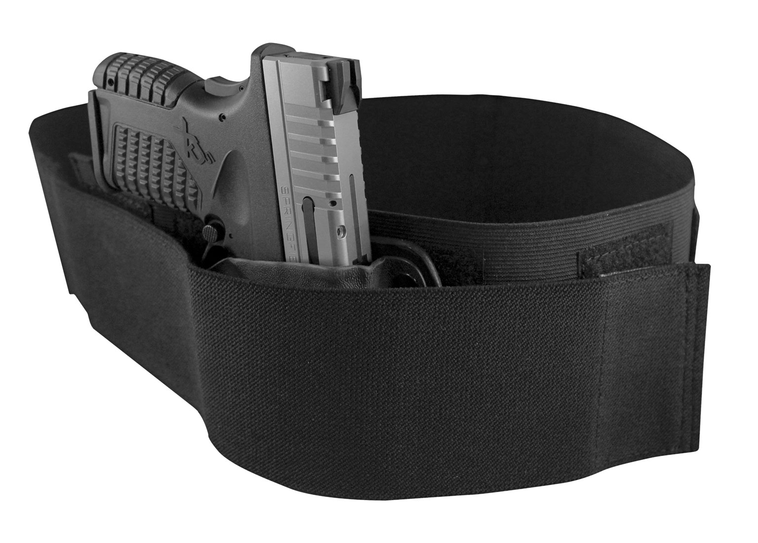 sweatpants, bellyband, belly band holster with hard trigger cover, ultimate belly band holster, deep concealment, modular belly band, CrossBreed Holsters, holster, IWB, Concealed Carry, most comfortable holster, hybrid holster, stay strapped, sweatpants, lockdown, personal protection, best belly band, best holster, best concealed carry holster, CrossBreed, pandemic self-defense