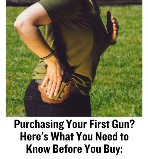 CrossBreed Holsters, new gun owners, handguns, concealed carry, IWB, holsters, holster, Jenn Jacques, new gun, gun sales, firearms training