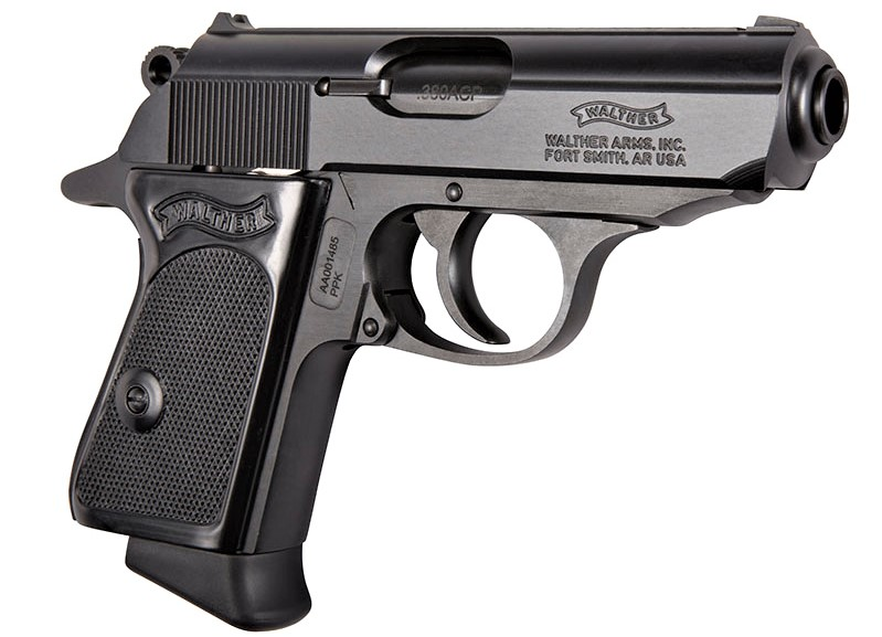 Walther Arms, Walther PPK, PPK, PPKs, .380 acp, 9mm, Bond gun, James Bond, CrossBreed Holsters, Firearms History, German Firearms, Walther PPKs, PPKs, Sean Connery, 007 guns, concealed carry, IWB, holster, holsters, hybrid holsters, holsters for Walther, Polizei-Pistolen, police pistol