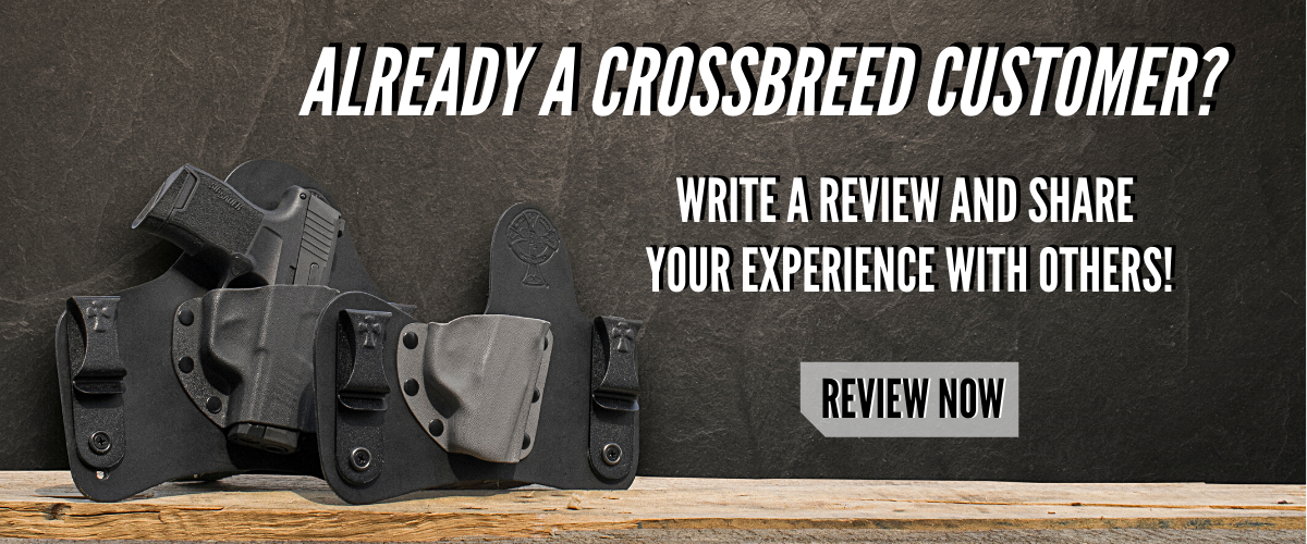 CrossBreed Holsters, concealed carry, IWB, OWB, best holster, hybrid holsters, holster, IWB Holster, OWB Holster, CrossBreed, holsters made in America, made in the USA,