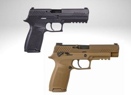 Going Commando: The Differences Between the Sig P320 and the M17