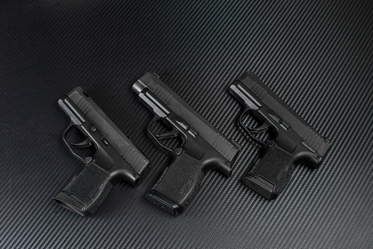 SIG SAUER, SIG P365, P365, P365 SAS, P365 XL, SIG, concealed carry, CrossBreed Holsters, SIG P365 Micro-Compact, SAS, best gun for concealed carry, handgun of the year, P365 Air Gun, IWB, OWB, holsters