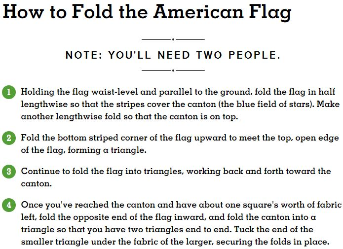 Old Glory, United States Flag, Flag Day, CrossBreed Holsters, Stars and Stripes, American Flag, America, flag facts, flag day, flags, national flags, national anthem, united states, made in America, made in the usa, USA, united states of america, How to Fold the American Flag, folding a flag, flag folding