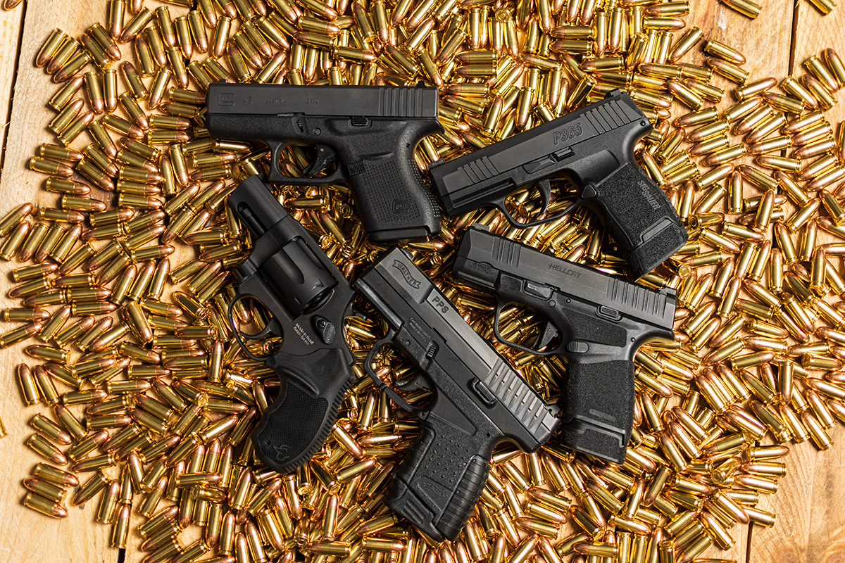 handguns, CCP, CCW, CZ, Ruger, LC9, semi-automatic, handguns, guns for self-defense, Glock, Smith & Wesson, SIG Sauer, M&P Shield, glock 26, Shield 9mm, P365, Walther, Taurus, Concealed Carry, gun sales, hybrid holsters, edc, everyday carry, best guns for, best holster, Glock 26, Walther, S&W, Taurus, Glock