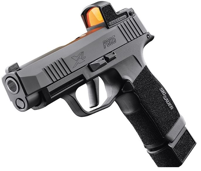 sig p365 xl romeo zero holster, SIG SAUER, SIG P365, P365, P365 SAS, P365 XL, SIG, concealed carry, CrossBreed Holsters, SIG P365 Micro-Compact, SAS, best gun for concealed carry, handgun of the year, P365 Air Gun, IWB, OWB, holsters, Romeo Zero, optics-ready P365