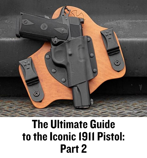1911, pistols, concealed carry, M1911, CrossBreed Holsters, SuperTuck, IWB,