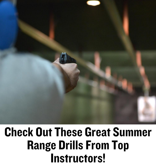 range drills, firearm training, CrossBreed Holsters, dry fire, firearm courses, range day, gun safety, training drills, weapons training