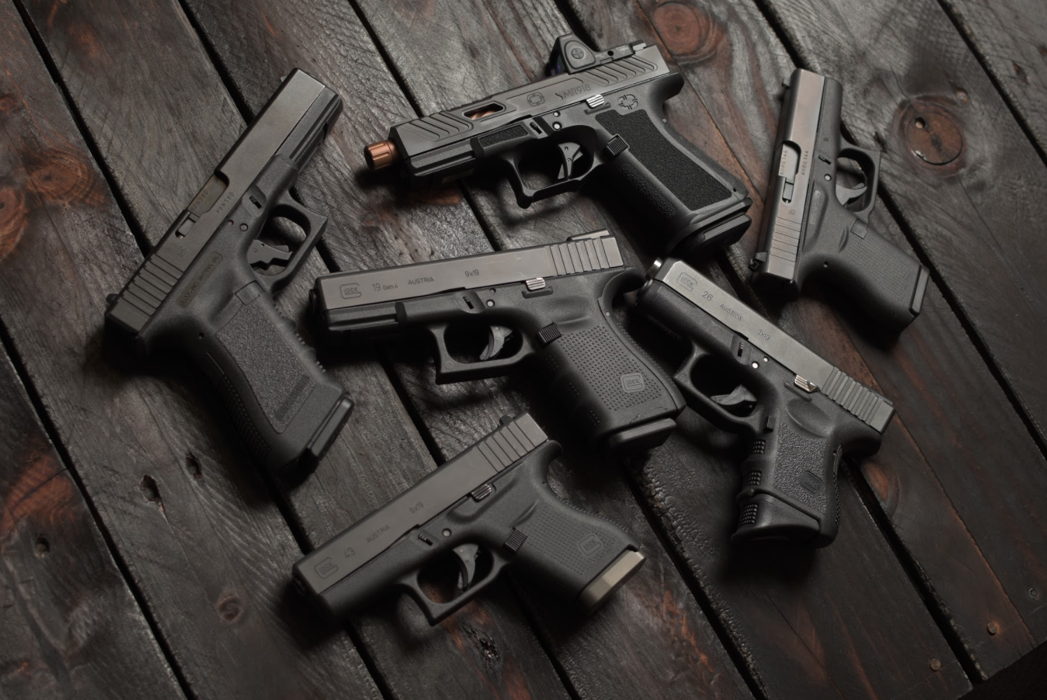 Glock, pistols, G19, G43, G17, G26, Glock firearms, CrossBreed Holsters, glock models, glock categories, CCW, concealed carry, IWB, OWB, best glock, glock for, G42