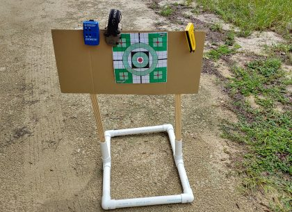 Build This DIY Target Stand for Your Home Range This Weekend!