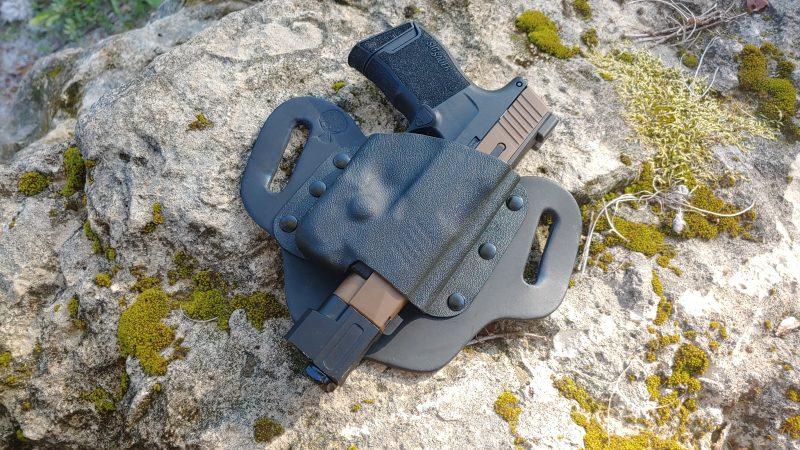 T-Comp, compensator, muzzle flip, front sight, P365, SIG, SIG P365, SIG Sauer, CrossBreed Holsters, DropSlide Holster, concealed carry, compensator, T-Comp,