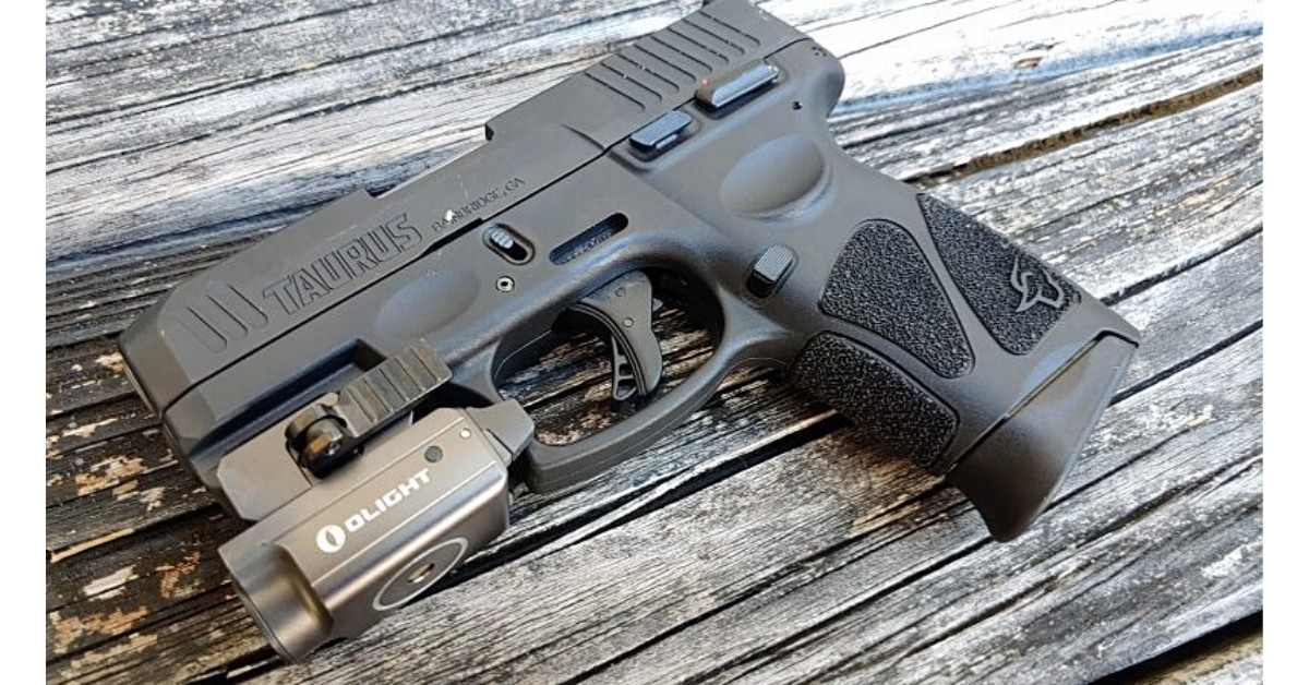 Olight, Mini 2 Valkyrie, weapon mounted light, gun light, weapon light, Taurus, G3c, G2c, EDC, everyday carry, firearm accessories, CrossBreed Holsters, IWB, OWB, light bearing holster, mini light, concealed carry, Valkyrie, lowlight training,