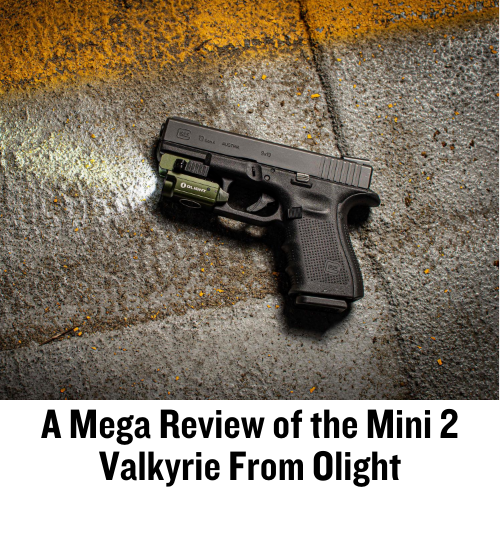 OLight, Firearm Accessories, Picatinny Rail, WML, Weapon-Mounted Light, CrossBreed Holsters, IWB, OWB Glock, G19, Mini 2, Valkyrie, rail mount, accessory rail