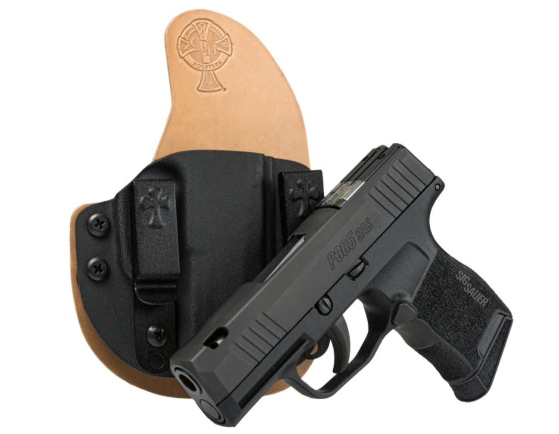 SIG P365 SAS, P365 SAS, SAS, SIG SAUER, SIG P365, P365, concealed carry, holsters, CrossBreed Holsters, P365 holsters, iwb, owb, Travis Pike, handguns, compact pistols, anti-snag sights, ASP