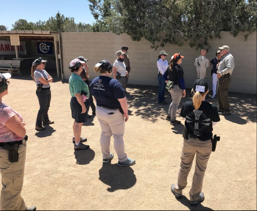 Gunsite Academy, firearms instructor, concealed carry, owb, range day, ladies pistol, gun training, firearms trainer, responsible, ccw, ccp, training course, weapons training, CrossBreed Holsters, instructors, teachers,