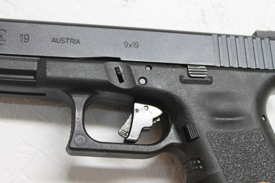 Glock, Glock 19, upgrades, CrossBreed Holsters, G19, handguns, Glock pistols, Travis Pike, concealed carry, IWB, IWB holster, holsters, Glock holsters, holster for Glock 19, Apex Trigger, Apex Tactical, trigger upgrade
