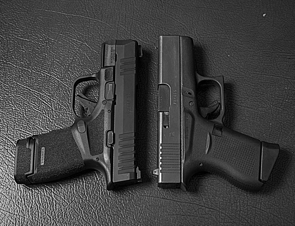 Glock 43, G43, Glock pistols, concealed carry, Glock handguns, Springfield Armory, Springfield Armory Hellcat, Springfield Hellcat, hellcat holsters, concealed carry holsters, ccp, CrossBreed Holsters, IWB, OWB, hybrid holsters, best holster for, best holster, best concealed carry holster, best concealed carry gun