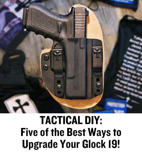 Glock 19, Glock, pistol, CrossBreed Holsters, Picatinny Rail