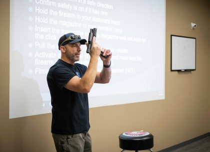 "St. Louis Firearms Instructor, ""The industry as a whole has seen the market shift."""