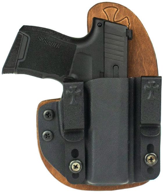 SIG Sauer, SIG, P365, P365 SAS, P320, P320 Carry, P320 X-Carry, CrossBreed Holsters, best holster for, concealed carry holsters, holster, holsters, Reckoning Holster, hybrid holster, comfortable holsterSIG Concealed Carry, Concealed Carry Holsters, IWB, OWB, SIG PISTOLS, 9MM, 40 S&W, 357 SIG