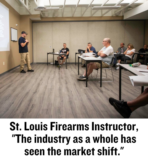 firearms instructor, responsibly armed, concealed carry, basic pistol, St. Louis, firearms industry, CrossBreed Holsters, Phil Balsamo, The Range St. Louis West