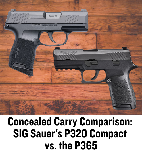 SIG, P365, P320, CrossBreed Holsters, IWB, OWB, concealed carry, SIG SAUER, SIG P365