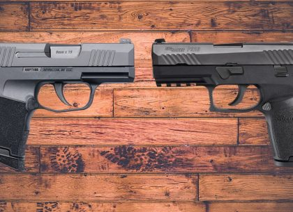 Concealed Carry Comparison: SIG Sauer's P320 Compact vs. the P365