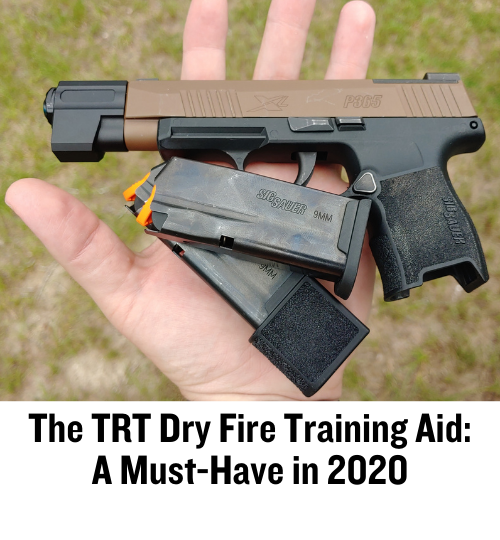 dry fire, firearms training, P365, SIG Sauer, CrossBreed Holsters, 9mm, TRT Dry Fire, Training,