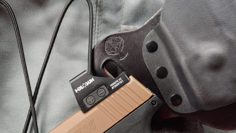 The Holosun 507K - The SIG P365's Best Red Dot