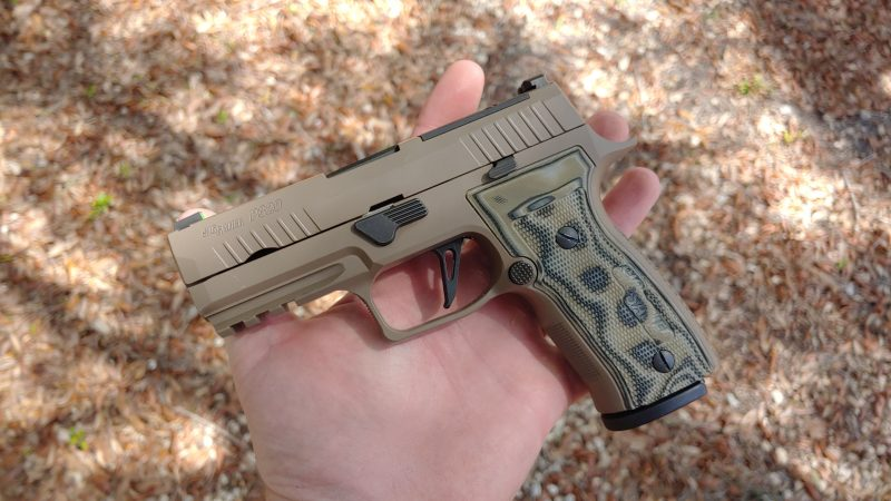 The SIG P320 AXG - SIG's First Custom Works Gun