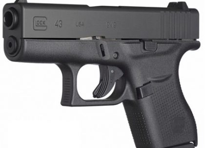 Glock 43 compact handguns