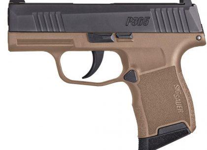 Sig Sauer P365 - compact handguns
