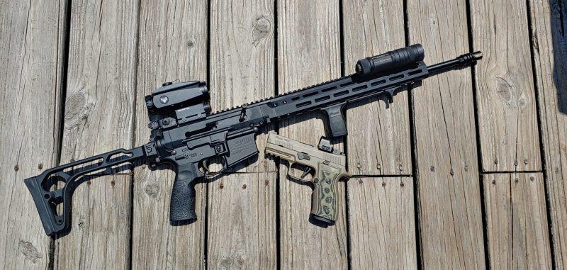 Handgun Vs. Rifle - One Serious Situation