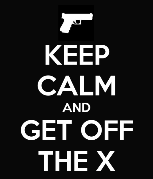 Get Off the X!