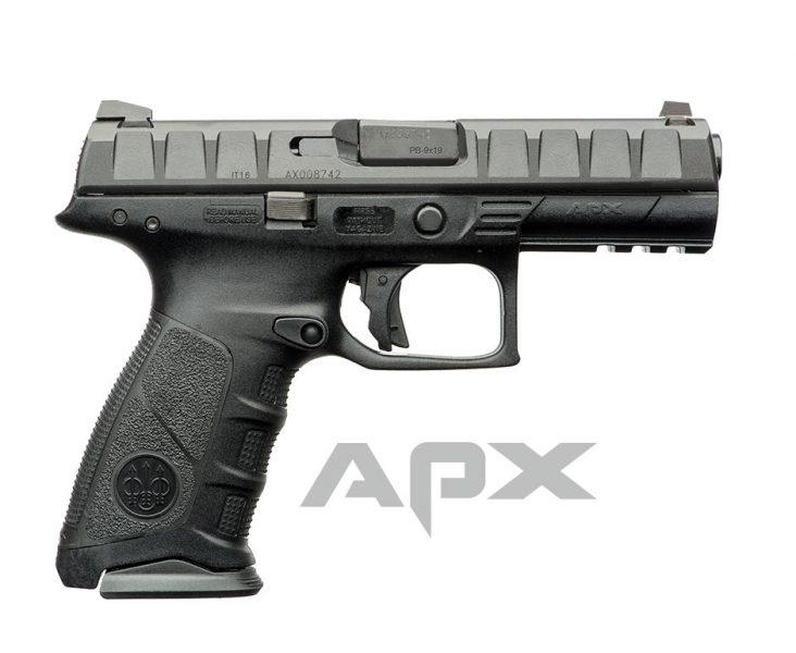 Beretta APX: Beretta's First Striker-Fired Pistol