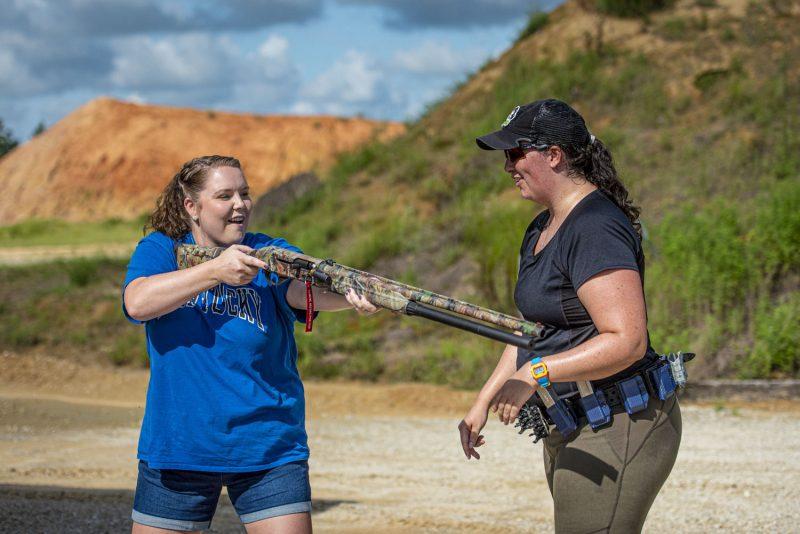 12 gauge shooting experience